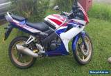 2010 Honda Cbr125R Registered till april 2016  for Sale