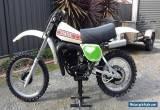 Yamaha YZ250E 1978 for Sale