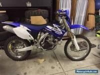 2007 Yamaha wr450