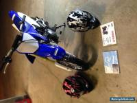 2011 Yamaha TT-R 50 with Helmet