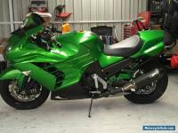 2012 Zx14r Kawasaki  Slightly Modified Special Edition Golden Blazed Green ABS.