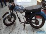 BSA Bantam project and spare parts, NO RESERVE for Sale
