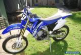 Yamaha WRF450 2011 1192km for Sale
