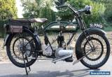 BSA 557cc H2 1922 with UK registration SL9969  in super restored condition  for Sale