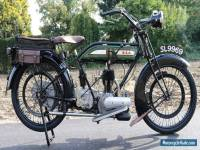 BSA 557cc H2 1922 with UK registration SL9969  in super restored condition