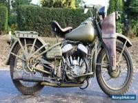 Harley WLA 750cc Year 1942 ex Second world war bike perfect for reeenactment