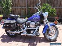 Harley Davidson 1997 SofTail  Heritage FXST  with EVO engine 1340 -  BLUE