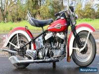 Harley Davidson 1945 U1200 very rare production year super winterproject