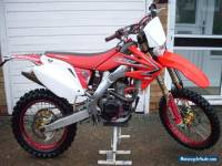 Honda CRF 250R Road Registered