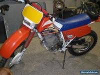 1991 HONDA XR250R-J WHITE