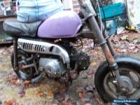 BARN FIND HONDA 1978 Z50 MONKEY BIKE Z 50 PIT BIKE