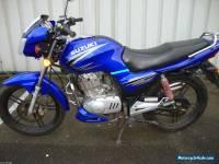 SUZUKI GSX 125 2008 MODEL IN BLUE