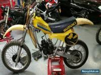 SUZUKI RM 125 1981/1982 , 2 bikes !!