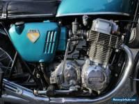 Candy Blue/Green Honda CB750 K0