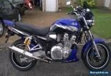 Yamaha XJR 1300 Sport Tourer Motorcycle Motor Bike 2005 / 54 Blue Black MOT  for Sale