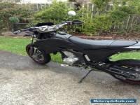 Yamaha wr250x Supermotard