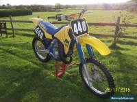 Suzuki RM 125 1989  EVO MOTORCROSS