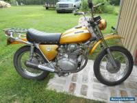 1970 Honda 1970 Honda SL 350