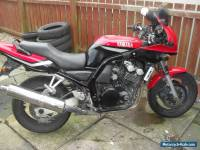 2000 YAMAHA  RED 600 FAZER, EASY PROJECT, RUNS AND TESTED TILL 2016