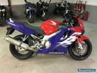 1999 HONDA CBR 600 F RED