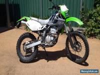 Kawasaki KLX 1999/2000 Motocycle 12 months rego