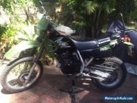 Kawasaki KLR 250D 2003 Motocycle