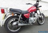 SUZUKI GN125 CUSTOM MOTORCYCLE - 11 REG for Sale