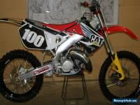honda cr 125 1998   genuine ex mike brown,  125 gp bike,  hrc, factory bike