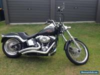 2008 Soft tail Custom Harley Davidson Motorcycle