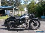 bsa 1949 motorbike M21  Sidecar outfit for Sale