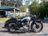 bsa 1949 motorbike M21  Sidecar outfit