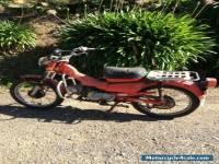Postie Bike Honda CT 110 1981model