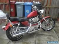 2000 HARLEY-DAVIDSON XL883C SPORTSTER RED