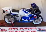 1999 SUZUKI GSXR 750X SRAD  WHITE/BLUE for Sale