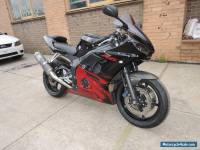 YAMAHA YZF R6 LIMITED EDITION 2003 MODEL BLACK RED FLAMES LOW KMS 600 SPRTS ZX6R