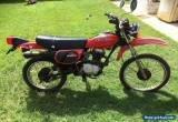 honda XL100S for Sale