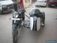 ROYAL ENFIELD 350CC 1976 MODEL WITH SIDE CAR