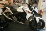 2013 HONDA CB 500 F-A WHITE for Sale