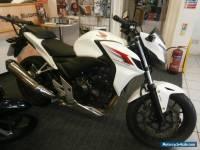 2013 HONDA CB 500 F-A WHITE