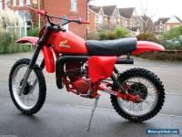 Honda CR 250 Red Rocket 1979 Classic 79 Twinshock Vintage Motocross