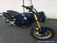 Honda MSX125 E 2014 GROM  (monkey Bike)