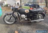 1970 Moto Guzzi Ambassador for Sale