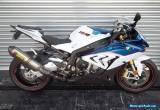 2015 BMW S1000RR Akrapovich pipe  BMW HP rearsets & Levers Only 1249km sept rego for Sale
