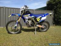 Yamaha WR450 2012 model fuel injected
