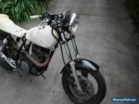 Yamaha XT500 Motard project