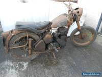 BSA M21 Spares or Repair Project Restoration Barn Find