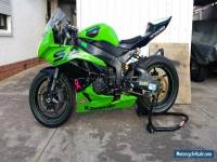 kawasaki zx6 track bike