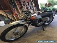 Honda SL-125 K1 Vintage Motorcycle