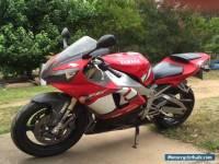 YAMAHA MOTORBIKE R1 2001