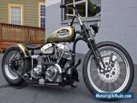 Custom Harley Davidson Nash Motorcyles USA